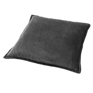 Sierkussen grijs Charcoal caith 50x50 detail