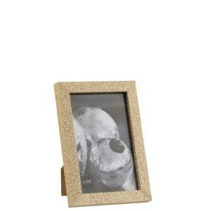 fotolijst goud glitter hout 15cm