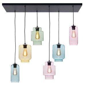 Hanglamp multi fantasy Amair 6 lichts