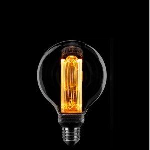Lichtbron LED Globe 80mm staaf smoke scene switch