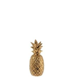 Kandelaar goud Ananas 20cm