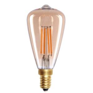 Lichtbron LED Edison mini staaf amber 4W dimbaar