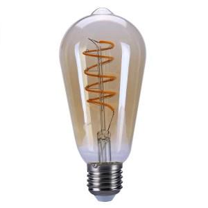 Lichtbron LED Edison spiraal amber scene switch