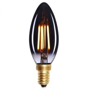 Lichtbron LED Kaars staaf rookglas 4W dimbaar