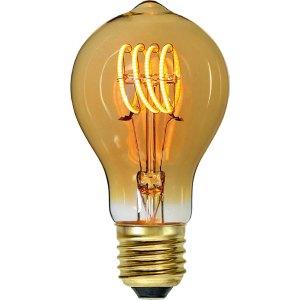 Lichtbron LED Standaard spiraal amber scene switch