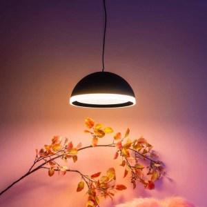 Hanglamp zwart Ringo 48cm sfeer