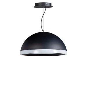 Hanglamp zwart Ringo 48cm