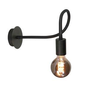 Highlight Wandlamp zwart flex1 lichts