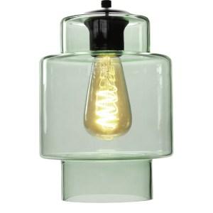 Lampenkap glas groen Moderno 16cm