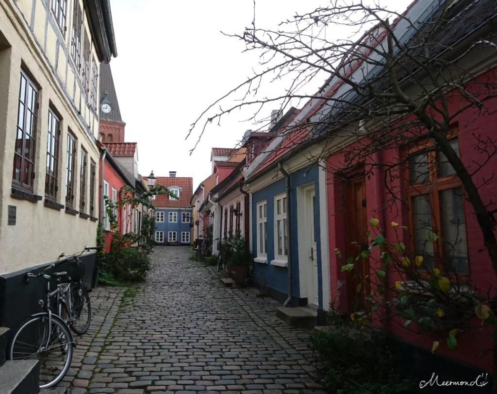 Altstadt in Aalborg Hjelmerstald