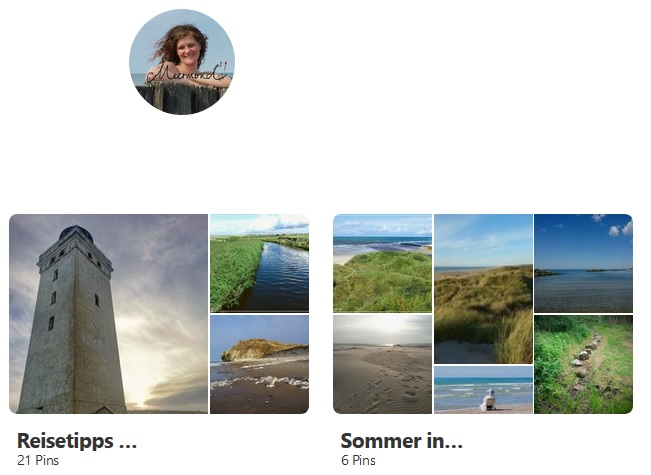Meermond bei Pinterest