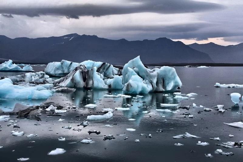 Eis Gletscher Island