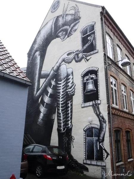 Aalborg Klokkestøbergade Graffiti