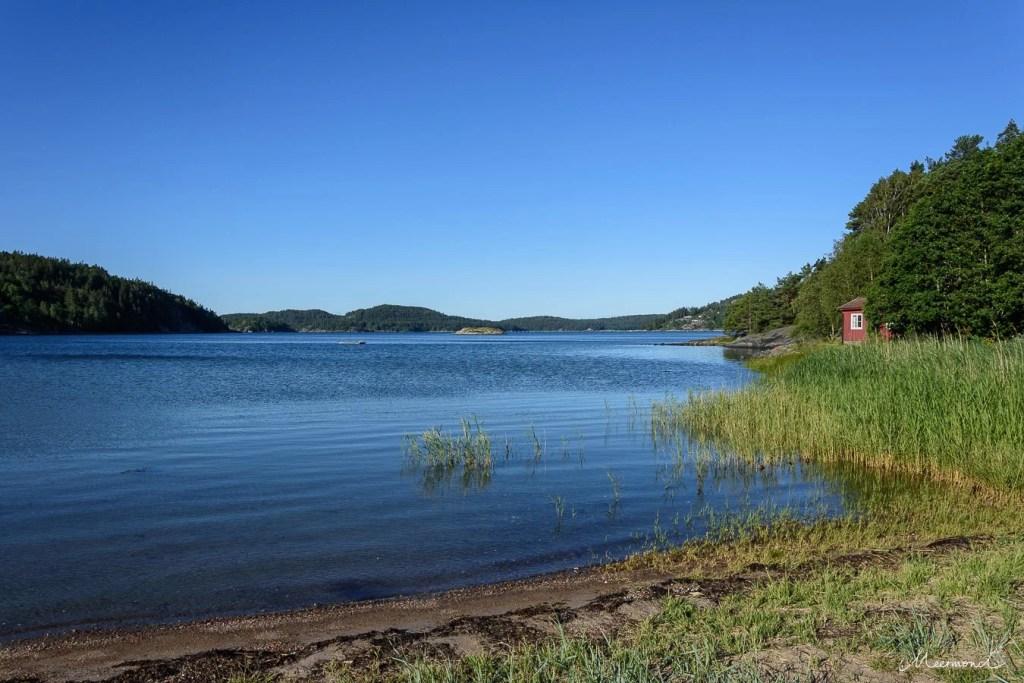 Vindöns Schweden Haus Meer