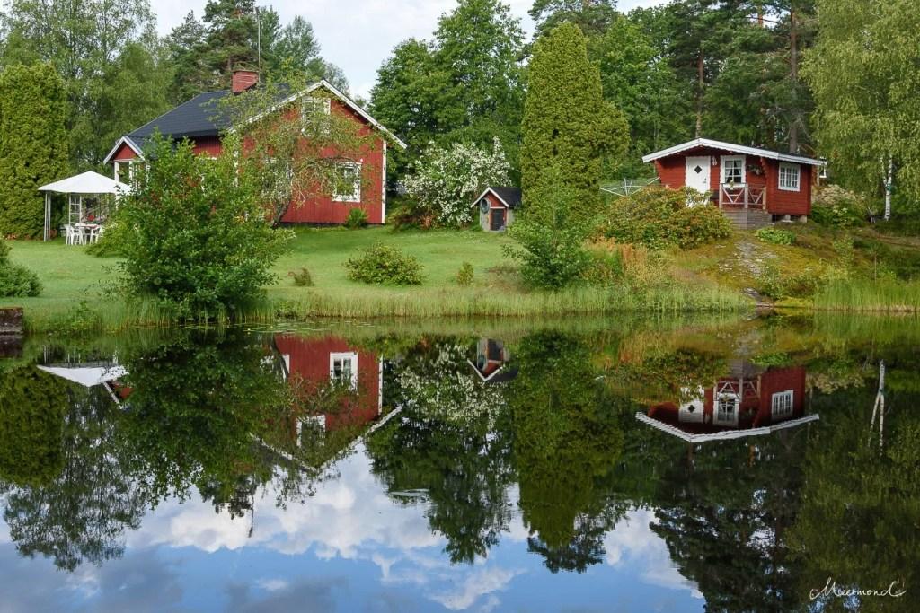 Schweden rote Häuser