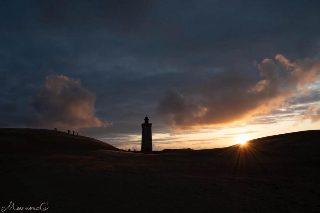 Sonnenuntergang am Rubjerg Knude Fyr