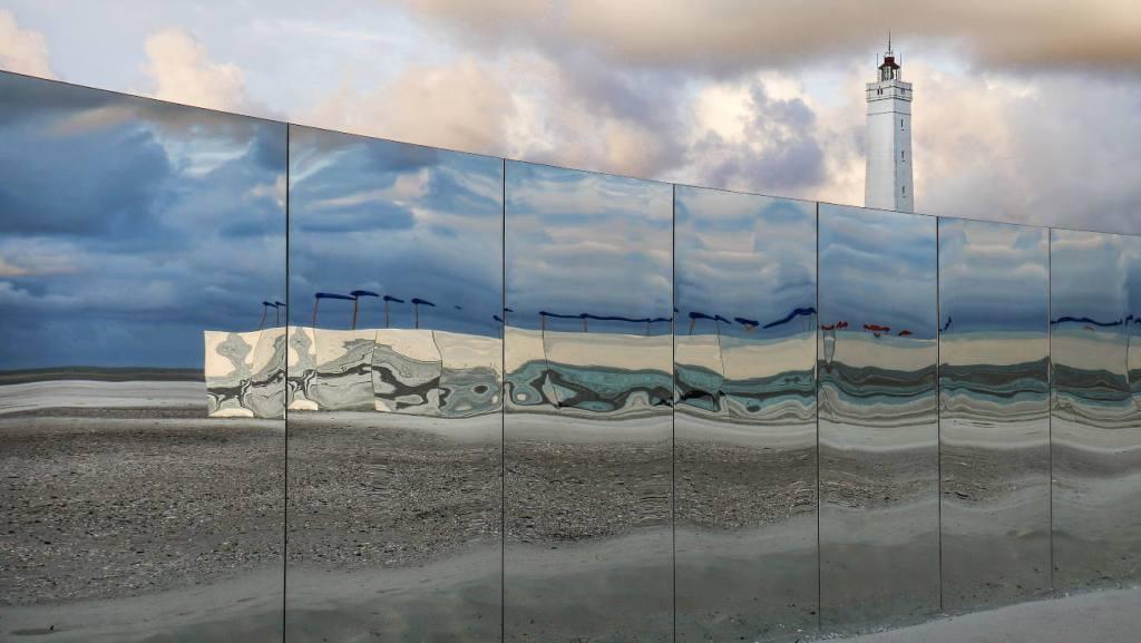 Spiegel bei Blåvandshuk Fyr