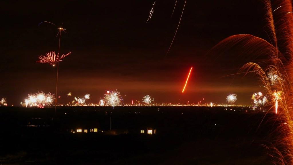 Silvester: Blick auf Esbjerg