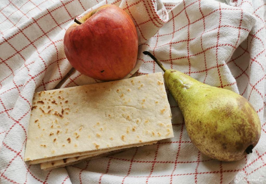 Lefse mit Obst