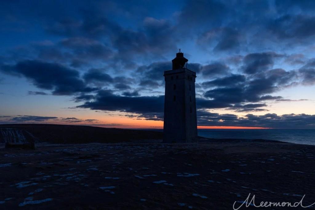 Blaue Stunde am Leuchturm Rubjerg Knude Fyr