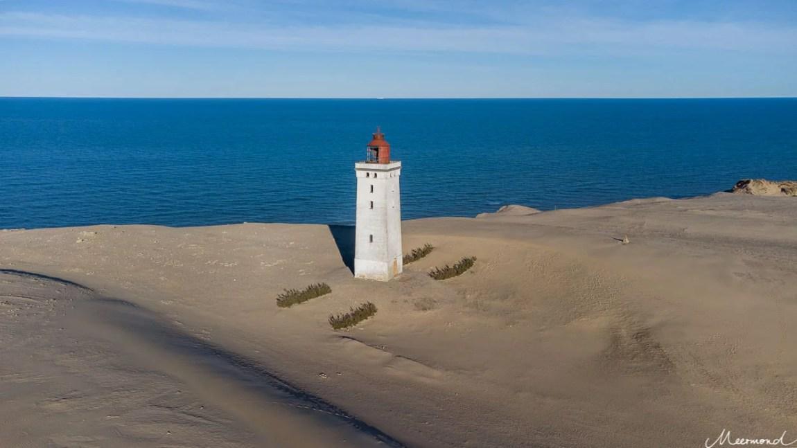 Drohnenbild Leuchtturm Rubjerg Knude Fyr