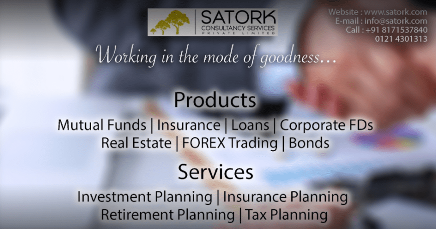 Satork Consultancy Services Private Limited-Financial advisor loan in Meerut