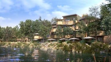 Villages Nature Paris, een luxe Center Parcs bij Parijs en Disneyland