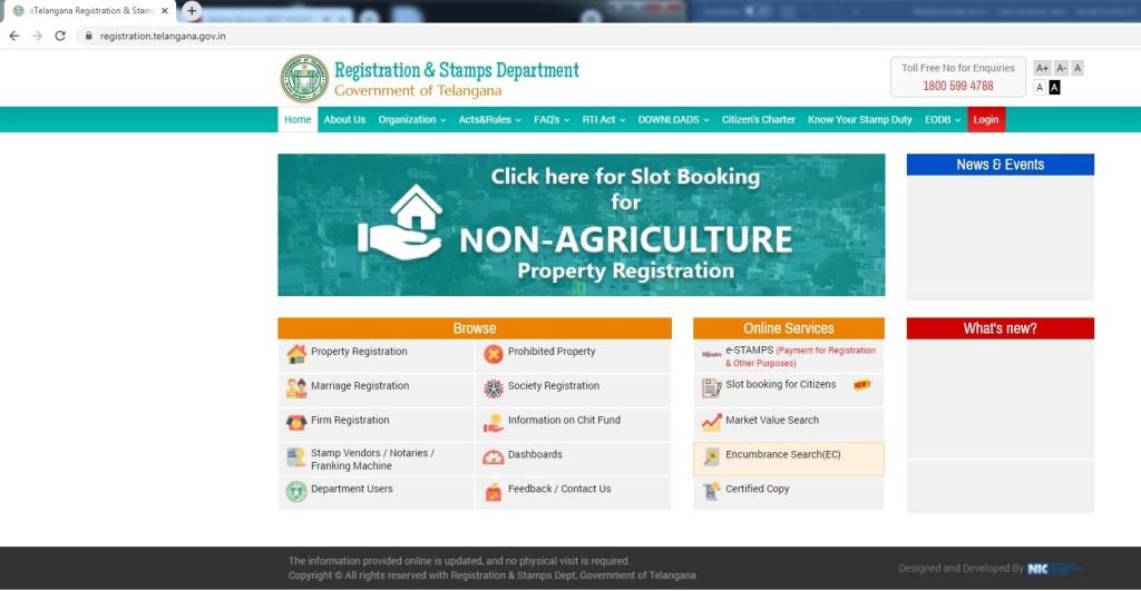 Registration Department Telangana