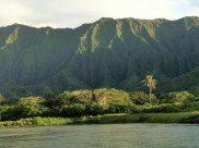 The Ko'olau Mountain Range, my childhood home