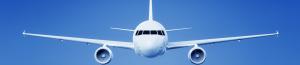 Vliegtuig in volle vlucht