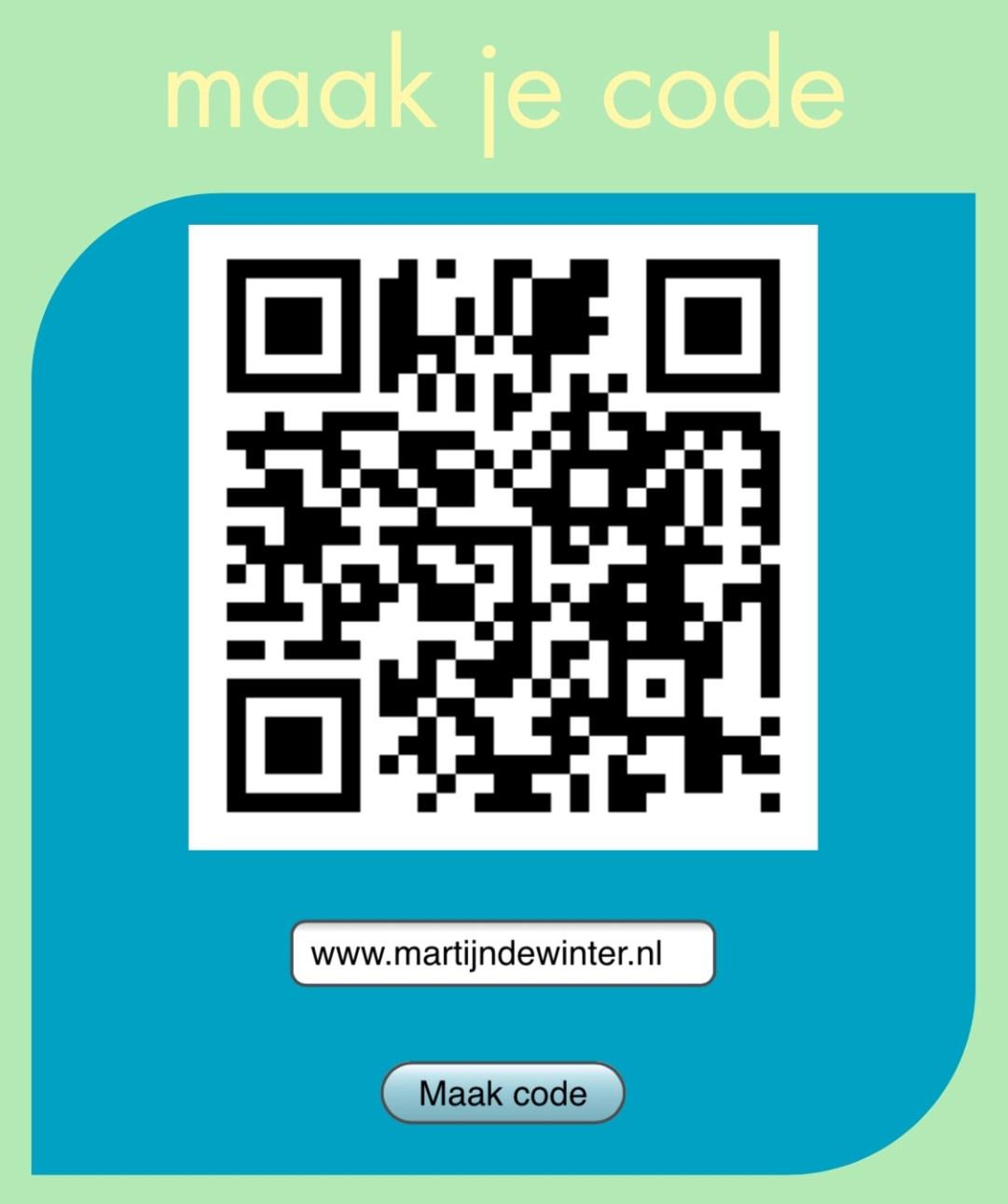 qr code maak je code