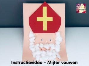instructievideo mijter vouwen