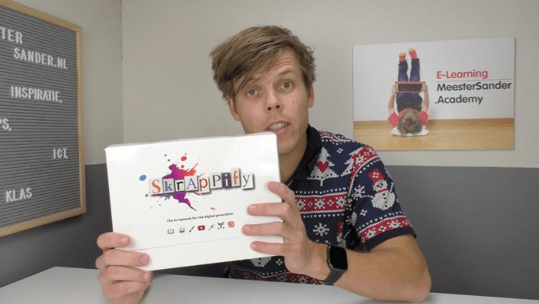 Skrappify – Een combinatie van een fysiek en digitaal plakboek met eindeloze mogelijkheden