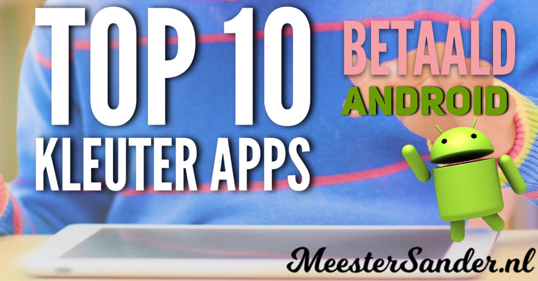 Top 10 kleuter apps Android betaald
