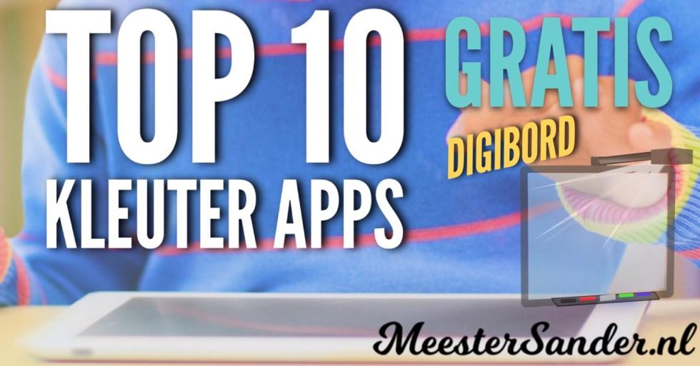 Top 10 kleuter apps digibord gratis