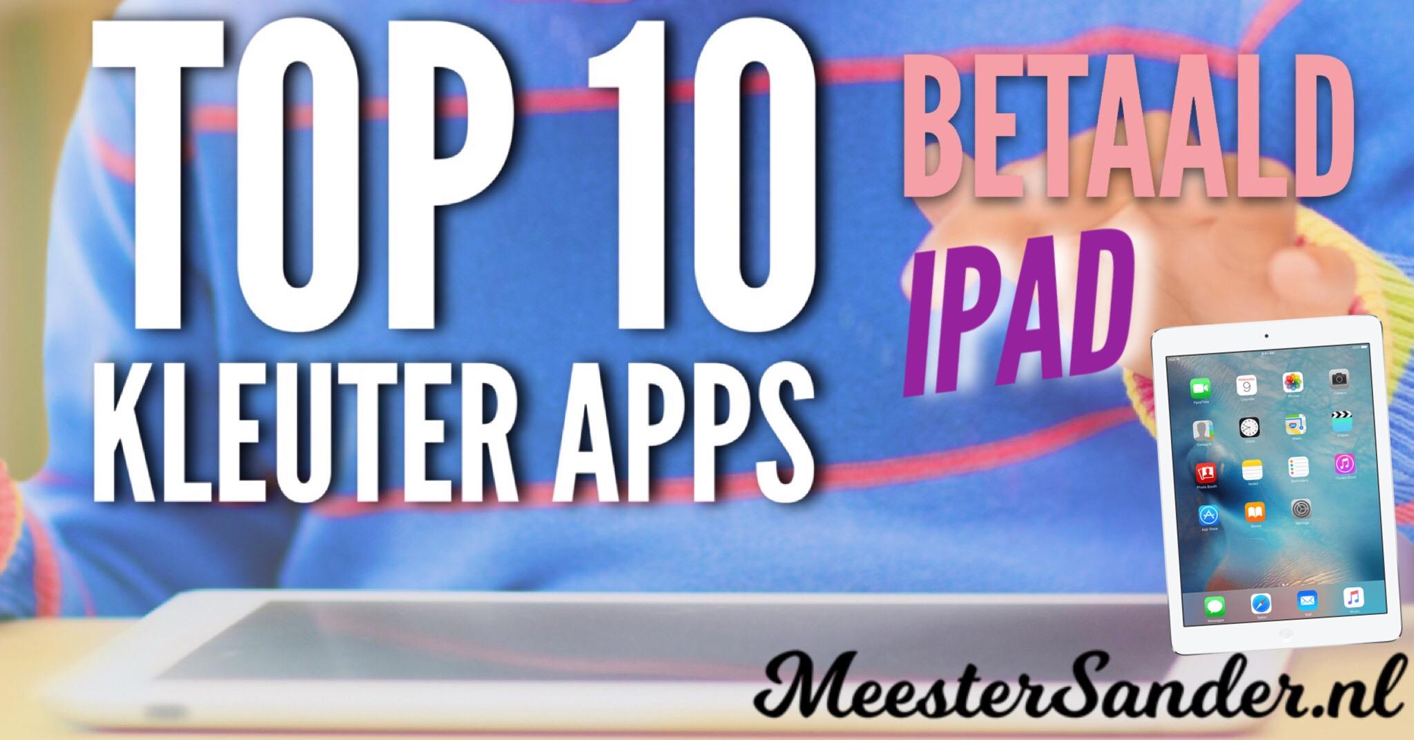 Top 10 kleuter apps iPad betaald
