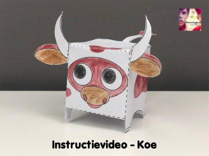 instructievideo Koe vouwen