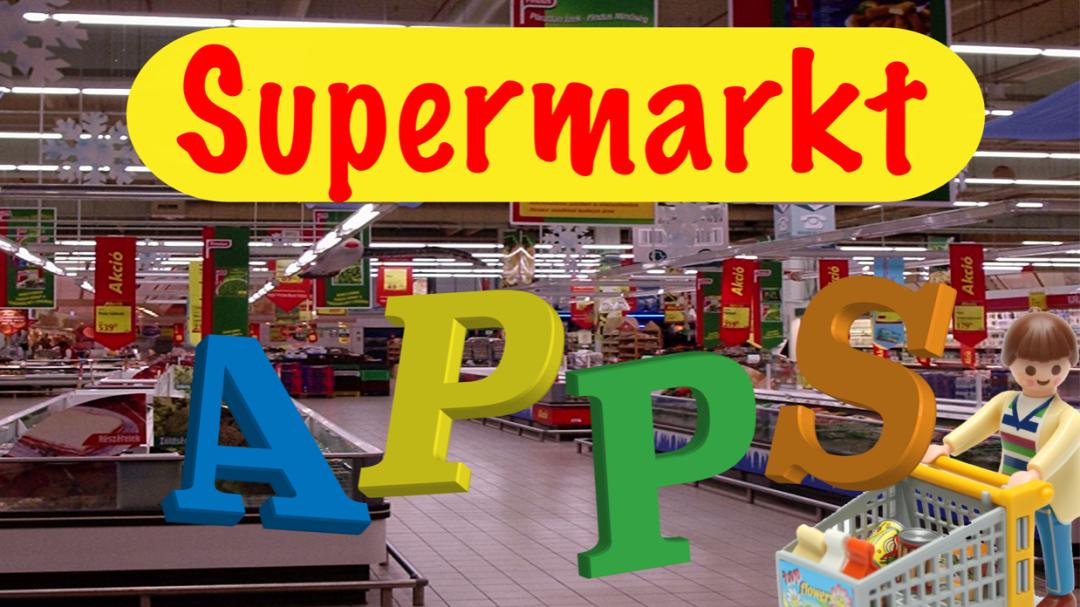 Apps thema supermarkt winkel