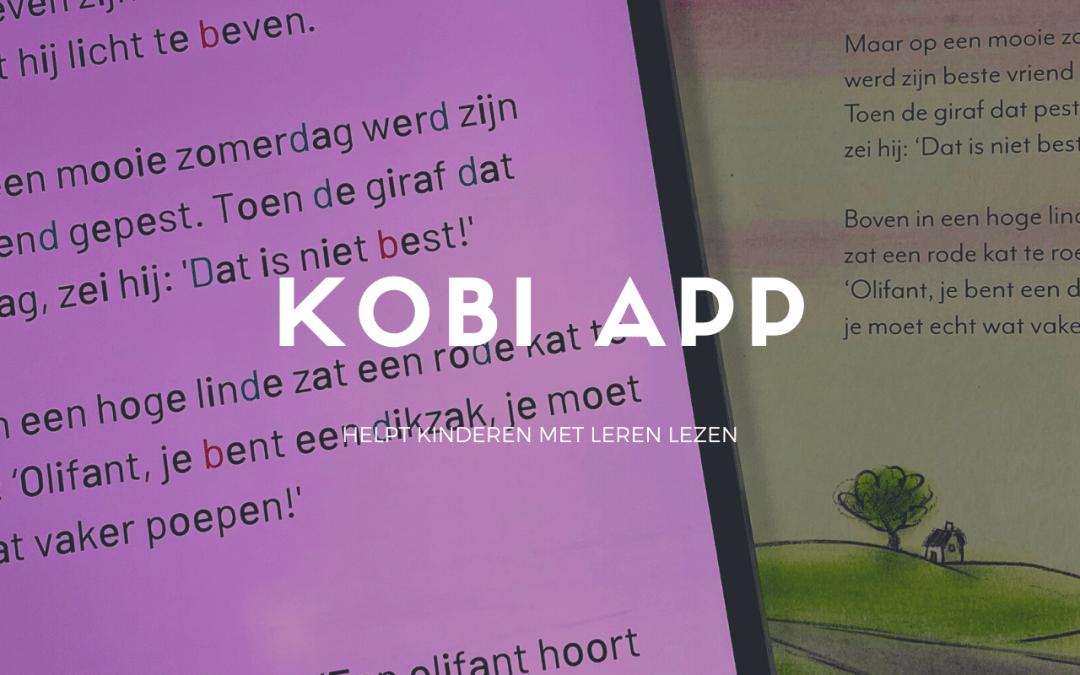 KOBI helpt kinderen met lezen – educatieve app
