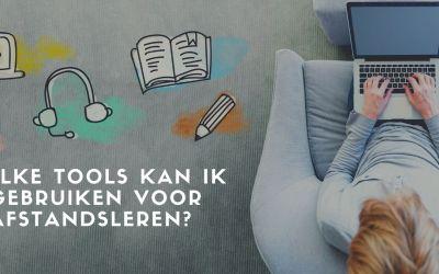 Vraag van een leerkracht: Welke tools kan ik gebruiken voor afstandsleren?