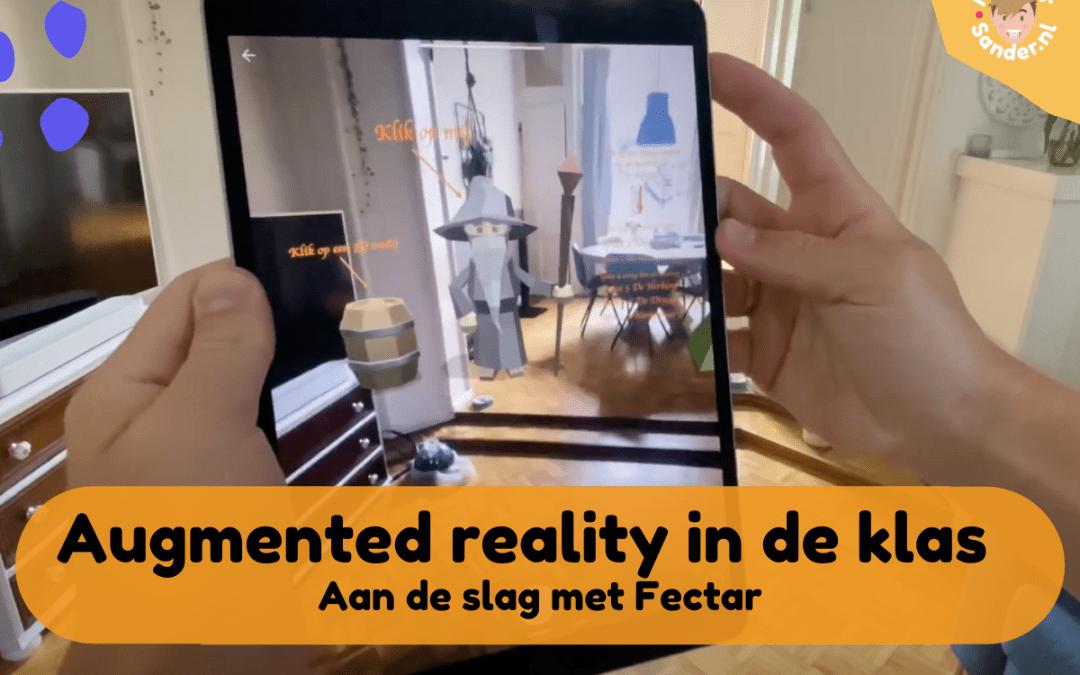 Dit moet je zien: Augmented reality in de klas met de app Fectar