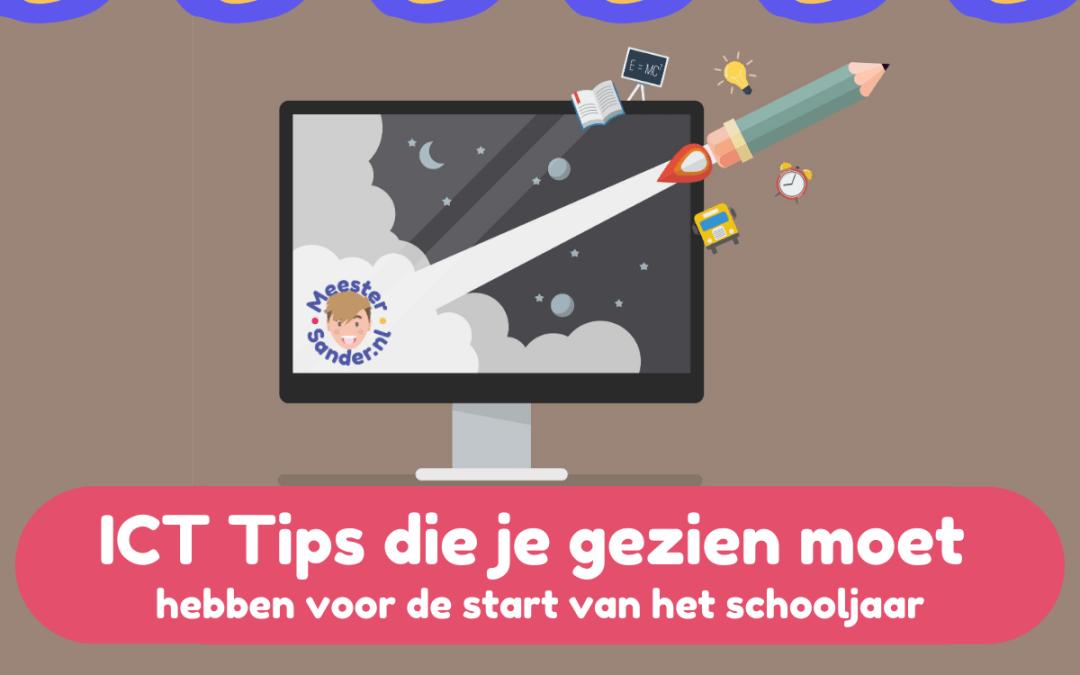 ICT tips die je gezien moet hebben voor de start van het schooljaar