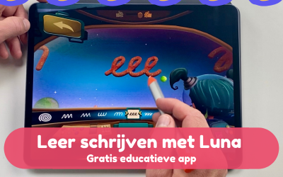 De gratis schrijf app voor in de klas – Luna
