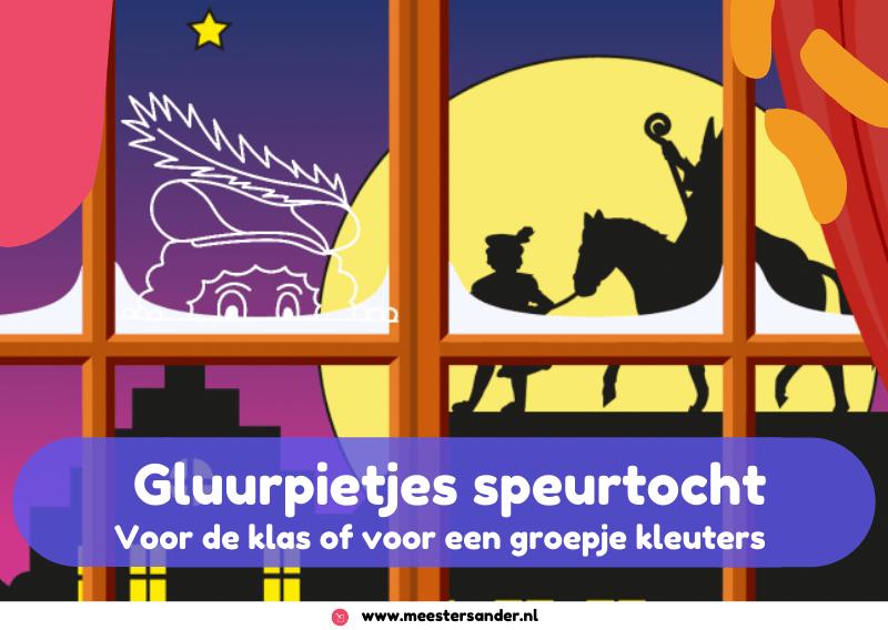 Gluurpietjes speurtocht voor kleuters – thema Sinterklaas