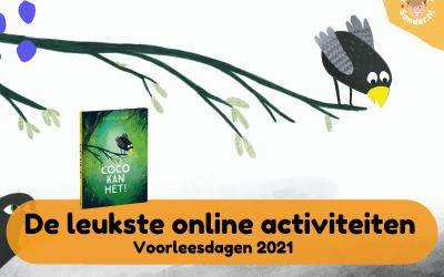 De leukste online activiteiten voor de voorleesdagen 2021 met Coco kan het!