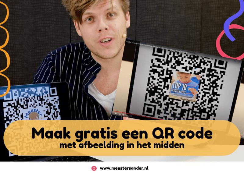 Maak nu QR-codes met plaatjes op MeesterSander.nl – Gratis QRcode maken met afbeelding