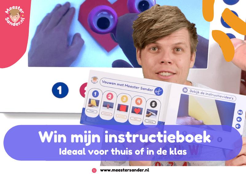 Unieke kans! Win een instructieboek t.w.v. € 54,95