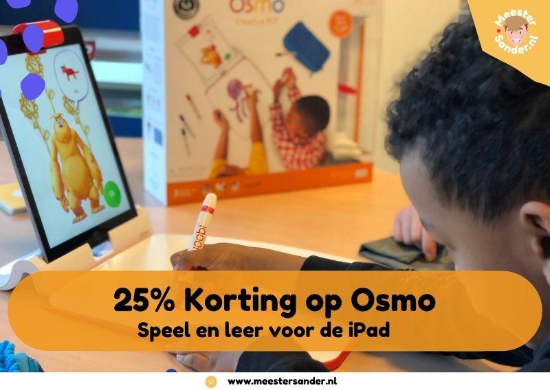Spelen voor de iPad met Osmo – 25% korting op alle sets