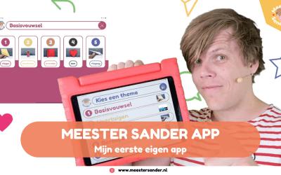 NIEUW! Mijn eigen Meester Sander App