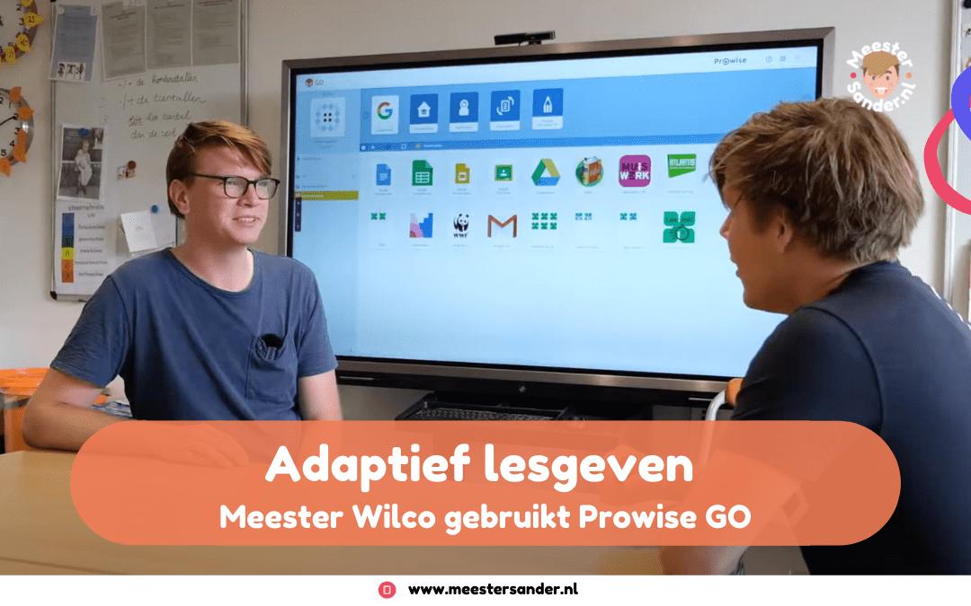 Adaptief lesgeven met Prowise GO – Op bezoek in groep 5 bij meester Wilco